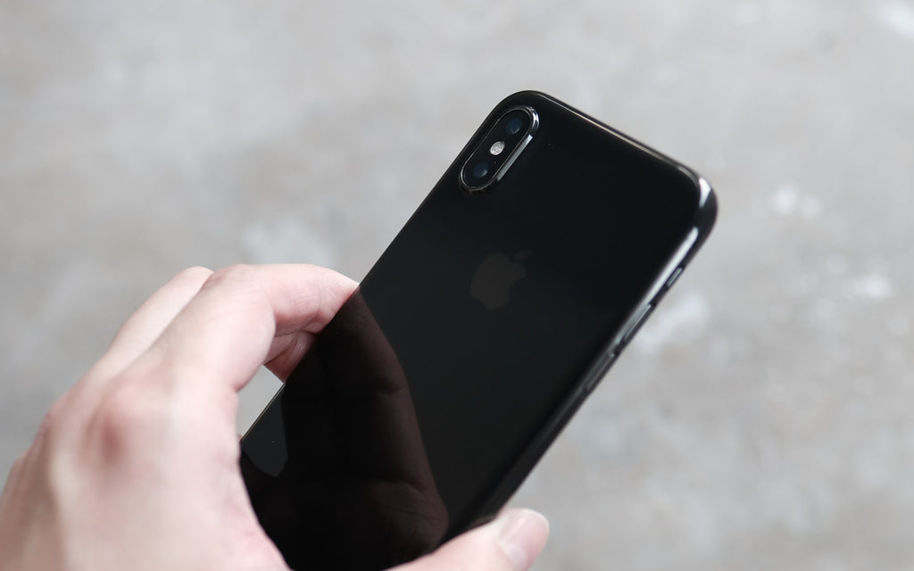 Bare Naked EX Thinnest Clear Case for iPhone XS Max - Pleasure to Touch with Grip