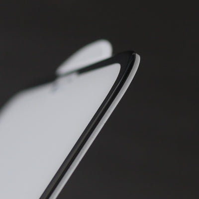 Bare Pane - Ion Strengthened Tempered Glass Full Coverage Edge to Edge Screen Protector for iPhone X - Rounded Edges