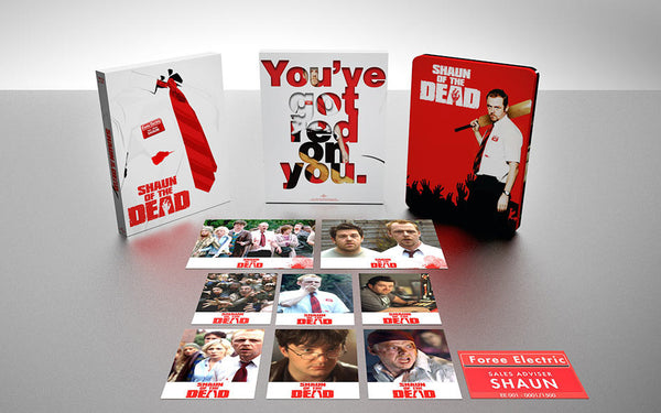shaun of the dead premium bluray steelbook