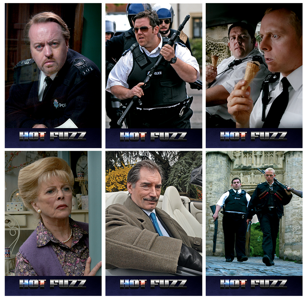 (EE 002) EverythingBlu Exclusive 002: Hot Fuzz Hard Box Blu-ray SteelBook