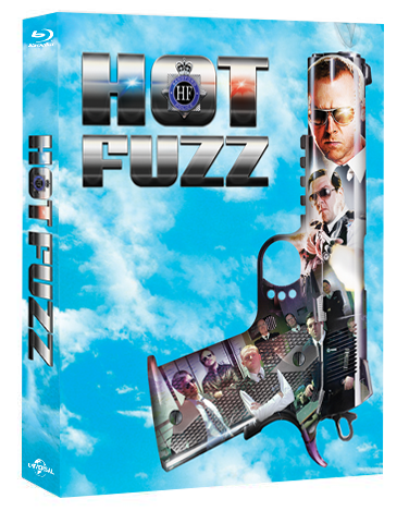 everythingblu exclusive hot fuzz hard box bluray steelbook