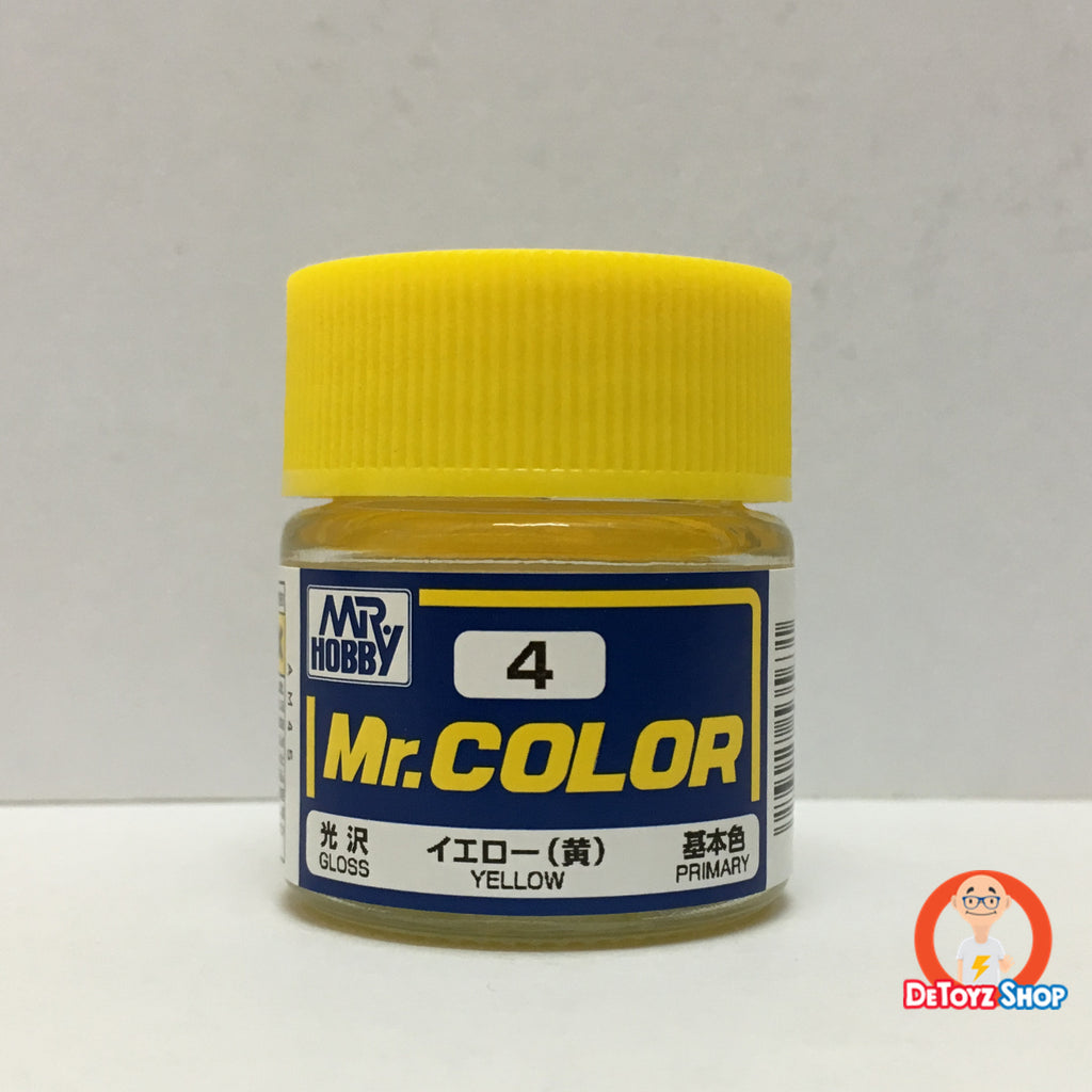 Mr Color C-4 Yellow Gloss Primary (10ml)