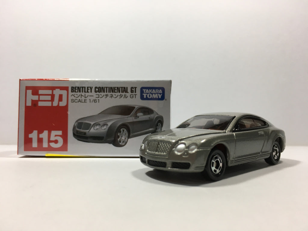 Tomica #115 Bentley Continental GT