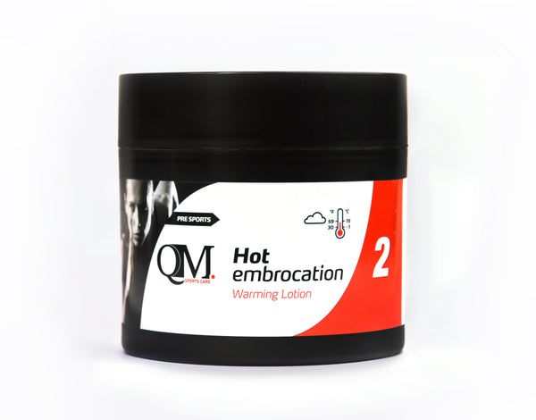 Premium QM Massage Lotion No.2 - Hot 200ml - kascelmed