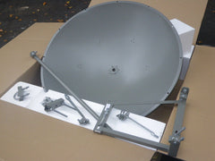 5GHz 34dBi 1.2m Dish Parabolic Antenna 4.9 to 5.9 GHz Single Pol HD Tilt Mount