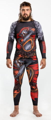 "Muay Thai MMA K1 ""Spartan Warrior"" Rash guard (Rash Guard Only)"