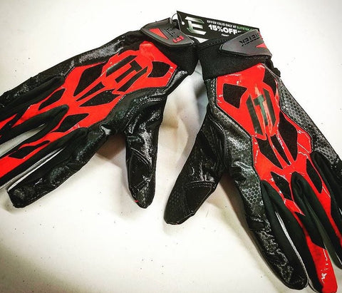 ***USED*** E-17 Football Gloves Youth & Adult - EliteTek.com