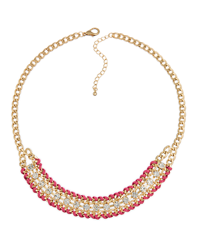 Blushing Rose Statement Necklace- $6 ea (12 pk)