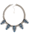 Blue Nile Statement Necklace- $10 ea (12pk)