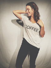 Relationship Status: Coffee Slouchy Tee