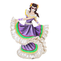Day of the Dead Celebration Dancers with Painted Face 8 Inch