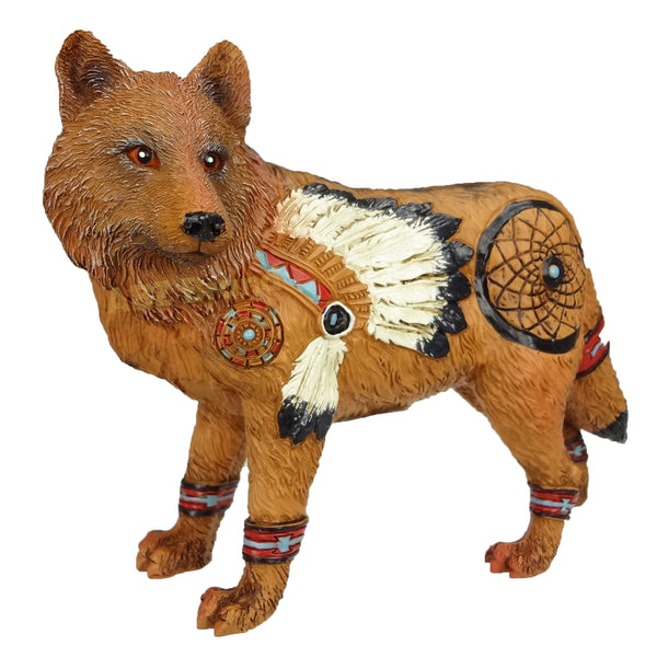 The Wolf Spirit Collection Alpha Leader Wolf Spirit Collectible Figurine by ABZ Brand