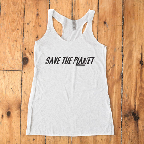 Save The Planet Racerback Tank