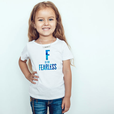 F is for FEARLESS Toddler Softstyle T-Shirt