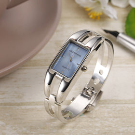 GEEKTHINK Rectangle Lady Casual Wristwatch