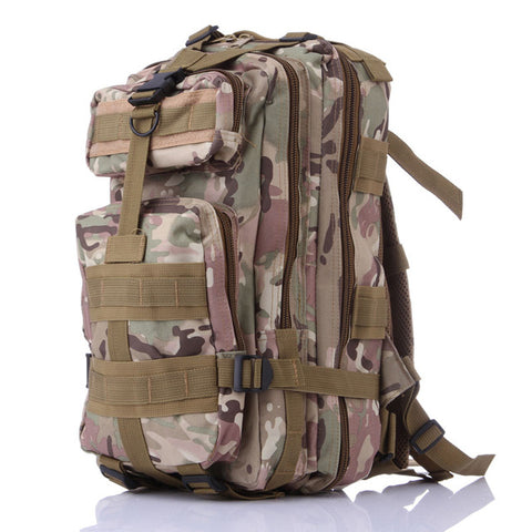 600D Nylon Military Tactical Backpack,Waterproof Molle Army Climbing Bag,6Color Outdoor Camping Hiking Hunting Backpack Rucksack