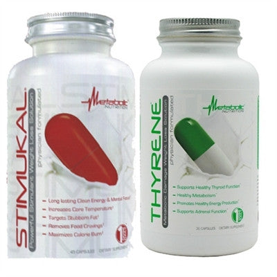 Metabolic Nutrition Stimukal & Thyrene Stack