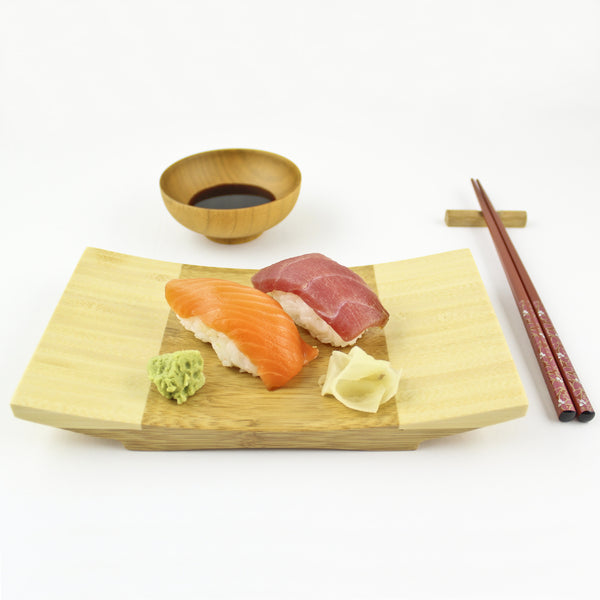 100% Natural Bamboo Sushi Gift Set For One