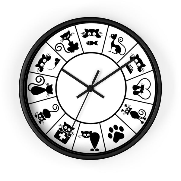 Cat Gear :: Cat Lovers Wall Clock - TD Gift Solutions.com