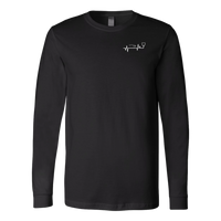 Respiratory Therapy Urban Legends | Canvas Long Sleeve Shirt | RT Swag - TD Gift Solutions.com