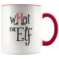 What The Elf! Mug | Christmas |  Christmas Elf - TD Gift Solutions.com
