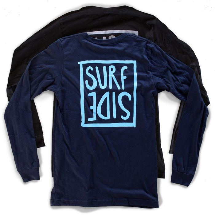 Surf Side (flipt) Unisex Long-Sleeved T-Shirt