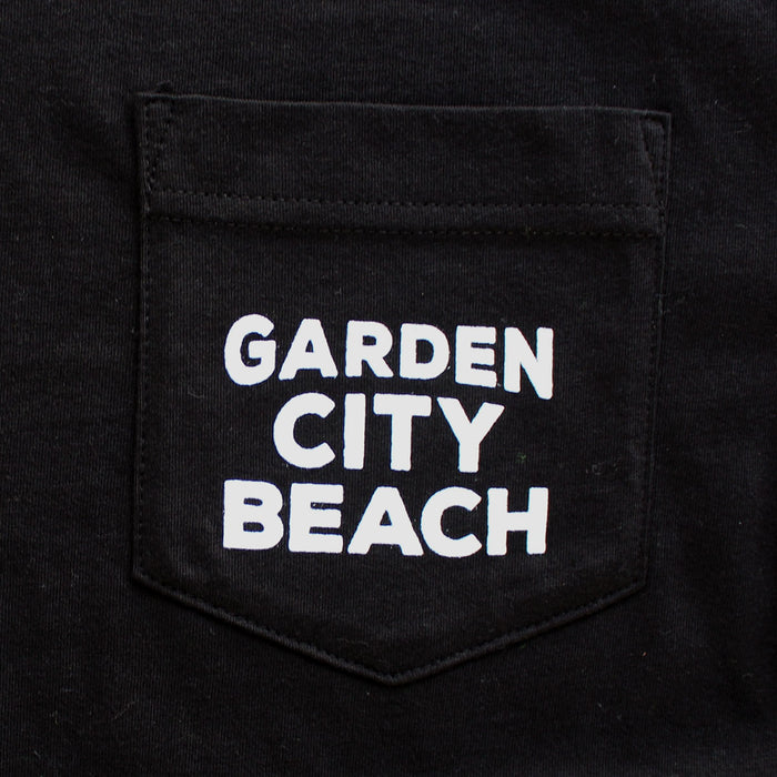 Garden City Beach (Unincorporated & Unapologetic) Unisex Pocket T-Shirt
