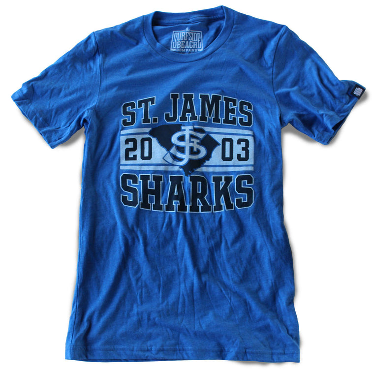 St. James Sharks (2003) Unisex T-Shirt