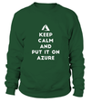 Keep Calm and Put It On Azure T-shirt