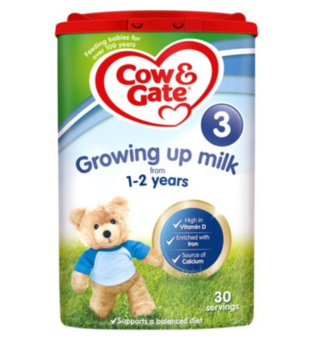 Cow & Gate 3 Growing up Milk 800g Powder for 1-2 Years