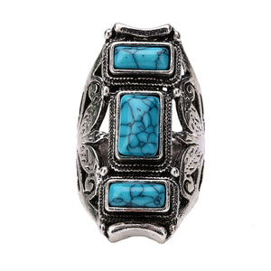 Vintage Turquoise Ring - PicaPicaBeauty