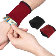 Smart Dancer Gadget :Zipper Fleece Wrist Wallet Pouch Safe Wristbands Protection Arm Band Bag For MP3 Key Card Storage Bag Case - World Salsa Championships