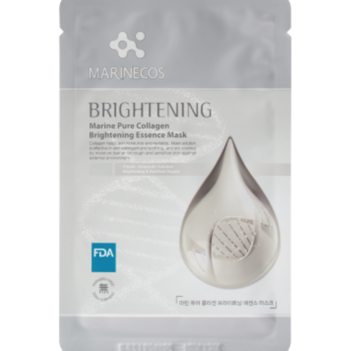 Marinecos Brightening Pure Collagen Sheet Mask