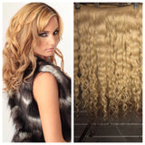 BVH Remy Blonde Wavy/Curly Collection
