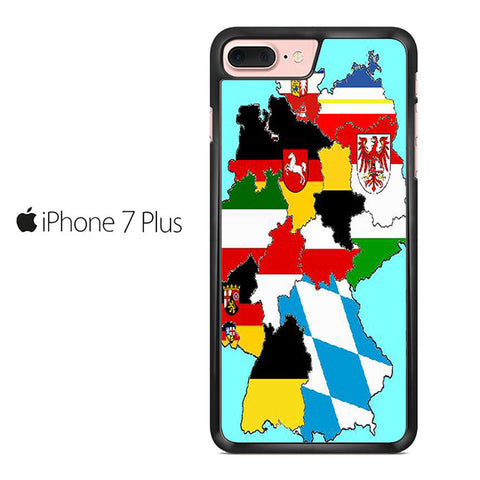 A map Of Germany Iphone 7 Plus Case