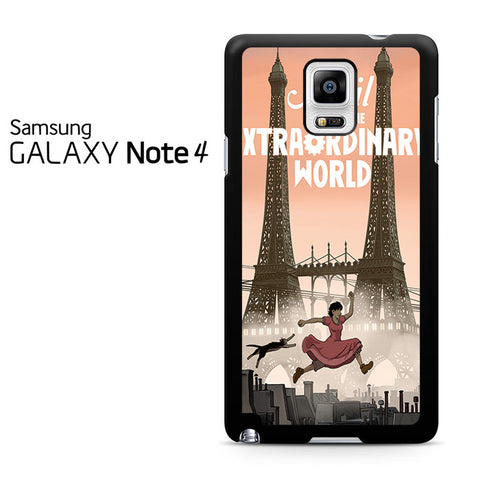 April And The Extraordinary World Samsung Galaxy Note 4 Case