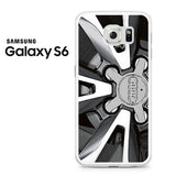 AUDI Wheel Design Samsung Galaxy S6 Case