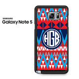 Aztec Monogram Samsung Galaxy Note 5 Case