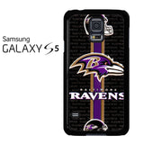 Baltimore Ravens Strip Samsung Galaxy S5 Case