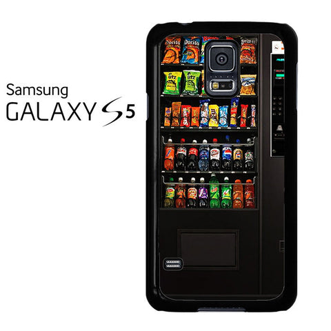 Black Combo Vending Machine Samsung Galaxy S5 Case