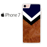 Brown Chevron Iphone 7 Case