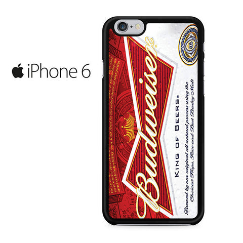 Budweiser Can King of Beer Iphone 6 Iphone 6S Case
