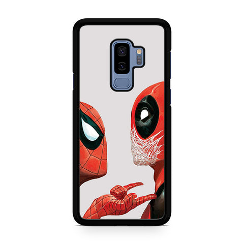 Spiderman Vs Deadpool Samsung Galaxy S9 Plus Case