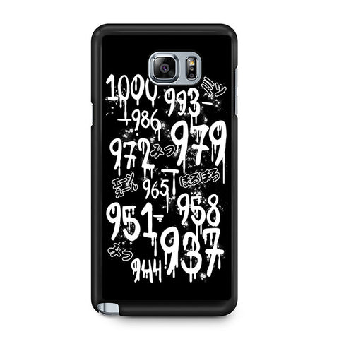 1000 Minus 7 Samsung Galaxy Note 5 Case