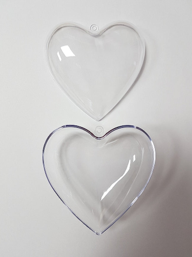 Bath Bomb Mould - Heart 6cm - EazyColours