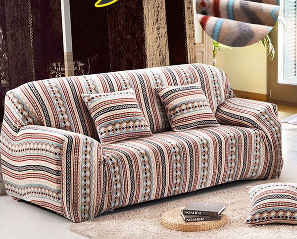 Pixel Stretch Sofa Slipcover,Fashion couch cover, Grey sofa cover