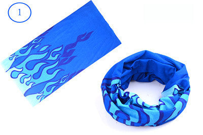 Outdoor Sport Bike Bicycle Cycling Riding Magic Headband Sport Scarves Cycle Neck Tube Warmer Scarf Scarves Headwear Bandanas