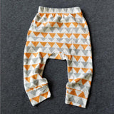 Online discount shop Australia - Baby Girls Boys Pants Cotton Harem Pants Cartoon Geometry Printed Pants Toddler Children Clothes Trousers
