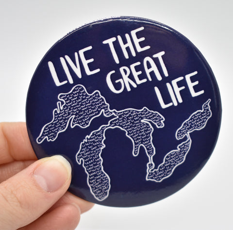 Live the Great Life Magnet