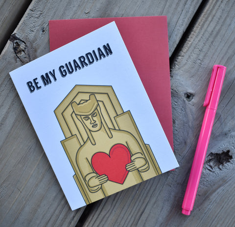 Be My Guardian Card